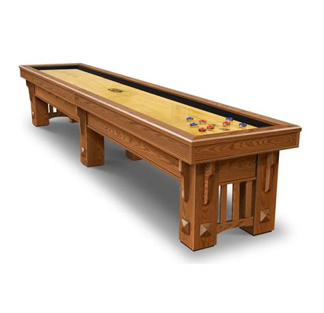table shuffle board coronado shuffleboard table by olhausen