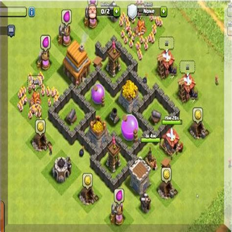 coc village layout apk town hall 4 war base layout 1 0 apk androidappsapk co