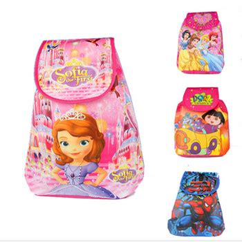Anting Anak Variasi Boneka Model Tas Sekolah Anak Perempuan Yang Disukai Jual