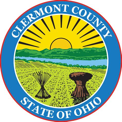 Clermont County Search File Seal Of Clermont County Ohio Svg