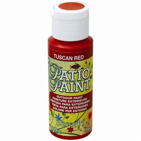 decoart 2 oz patio tuscan acrylic paint dcp65 3 the
