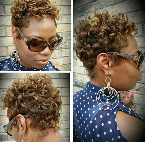 african american short curly pixiecut hairstyles 20 sassy and sexy black pixie cuts