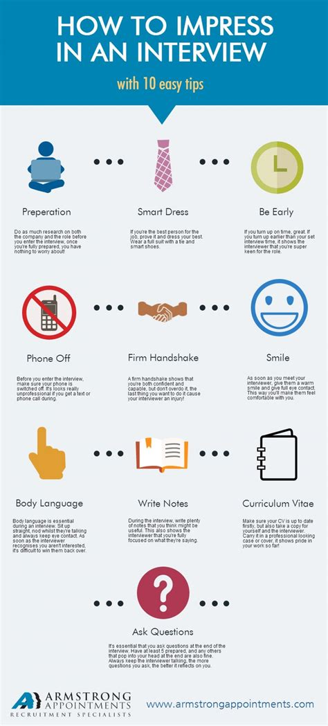 8 To Impress Your by How To Impress In An With 10 Easy Tips Visual Ly