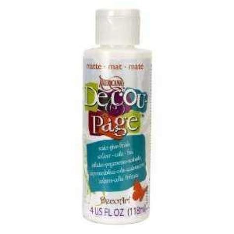 Decoupage Glue And Sealer - decoupage sealer glue matte 4oz
