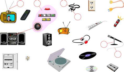 electronics vocabulary image  sound languageguide