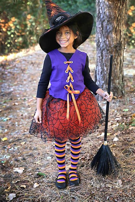 sew witch costume skip   lou