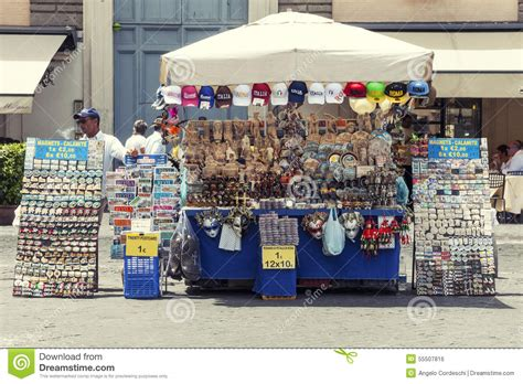 Stop And Shop Gift Card Kiosk - souvenir kiosk store in rome popolo square editorial photo image 55507816
