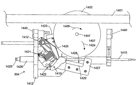 table saw safety mechanism patent us7350444 table saw with improved safety system