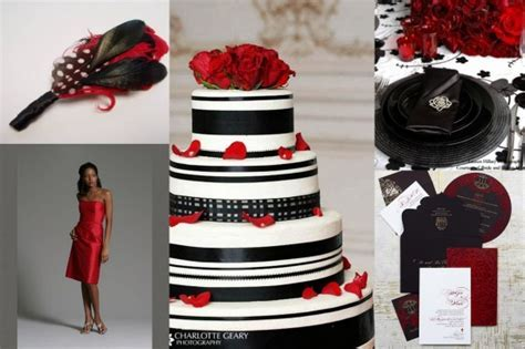 Black and White with a touch of Red ? LeeHenry Events LLC