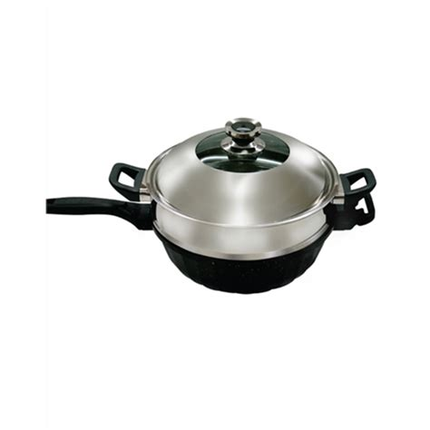 Panci Wok jual panci steam signora nano wok 32cm murah harga