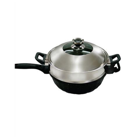 jual panci steam signora nano wok 32cm murah harga