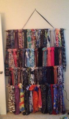 Diy Scarf Rack Cheap  Easy Projects Scarf Rack