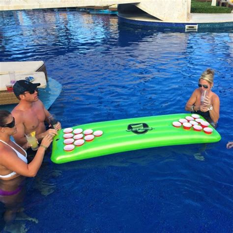 pool pong table floating pong table gopong pool pong table