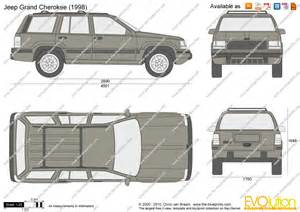 the blueprints vector drawing jeep grand