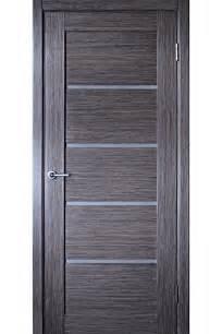 Venice Grey Oak Interior Door With Glass