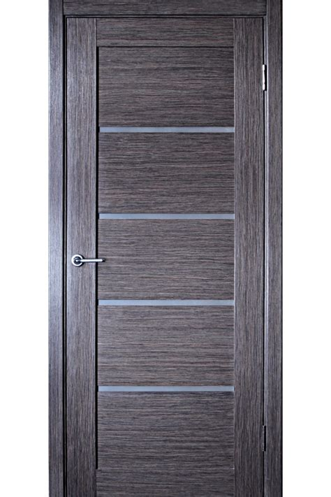 Gray Interior Doors Venice Grey Oak Interior Door With Glass
