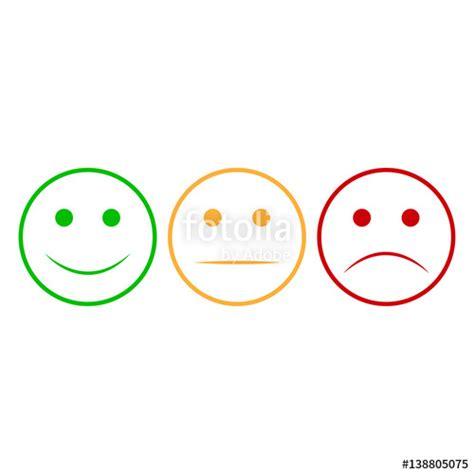 happy green color quot smiley set smiley icon happy and unhappy