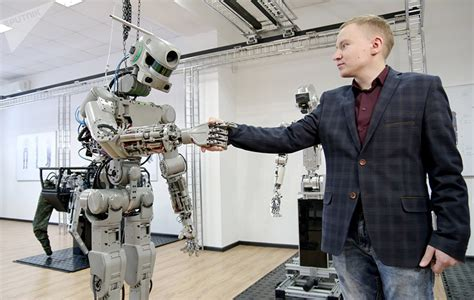 the international research robot hammacher schlemmer russia s robot fedor to be the first to fly to space on