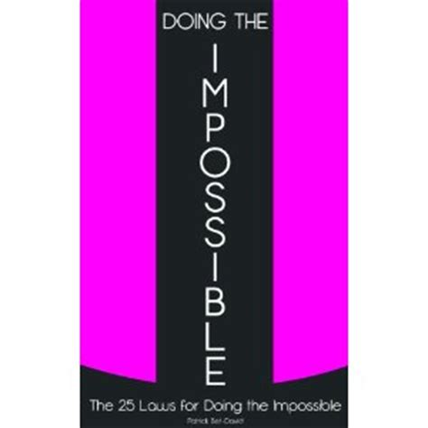 doing the impossible the 25 laws for doing the impossible ebook doing the impossible the 25 laws for doing the impossible