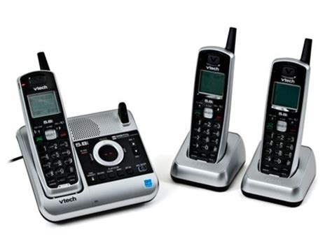 vtech 5 8ghz 3 handset phone with answering system