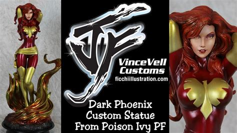 Statue Pf Sideshow Phonix Exc custom statue from sideshow poison pf