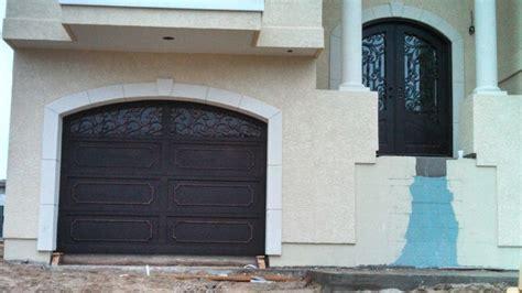 iron garage doors wrought iron doors mediterranean garage doors and openers other metro by precision door