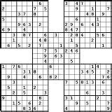 free printable triple sudoku 1000 images about sudoku on pinterest fall pictures