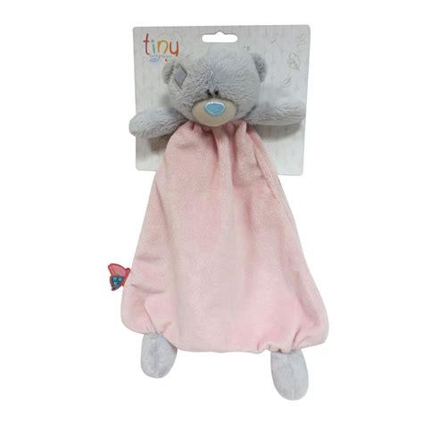 tiny tatty teddy comforter tiny tatty teddy pink deluxe baby comforter