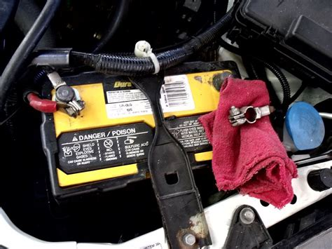 change battery  acura rsx service manual   change battery  acura rsx
