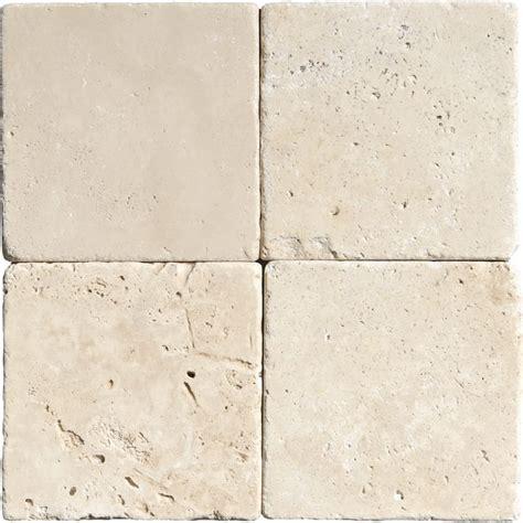 ivory tumbled travertine tiles 4x4 marble system inc