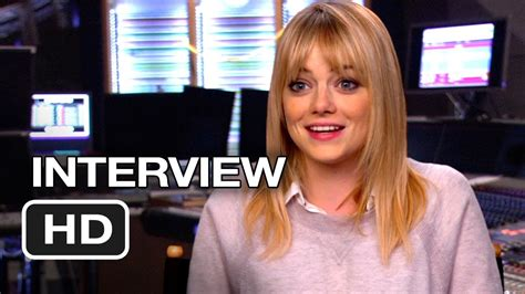 2013 film with emma stone the croods interview emma stone 2013 animated movie
