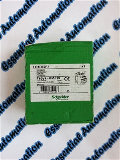Lc1d23 essential automation ltd telemecanique schneider lc1d32 f7 lc1d32f7 contactor ea0687