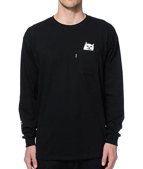 Sleeve Pocketed T Shirt ripndip lord nermal sleeve pocket t shirt
