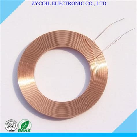 toroidal air coil inductance multilayer toroid air inductor coil wireless charger coil bobbin of aircorecoil