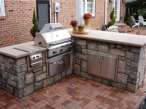 beautiful outdoor kitchens l shaped outdoor kitchen island kits beautiful outdoor