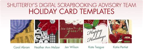 shutterfly card template shutterfly digital scrapbook advisory team