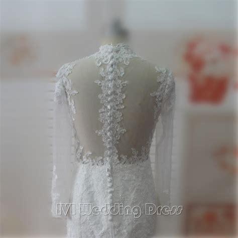 Wedding Dress Zipper by Sleeves Mermaid Wedding Dresses Zipper Back With