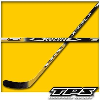 accurate rubber st tps response rubber one composite hockey stick senior