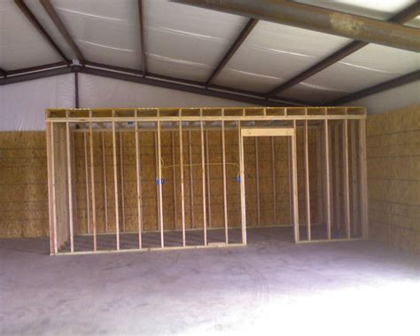 24x36 Garage Plans by T R Metal Buildings Construction Process Of A 24 X 36