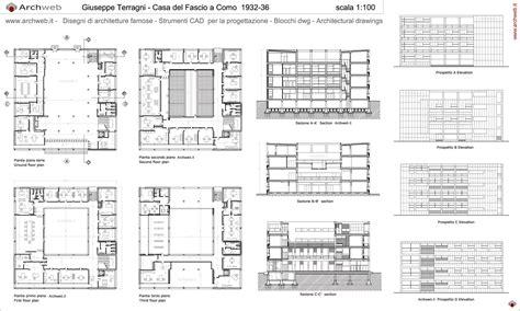 giuseppe terragni casa fascio giuseppe terragni casa fascio drawings