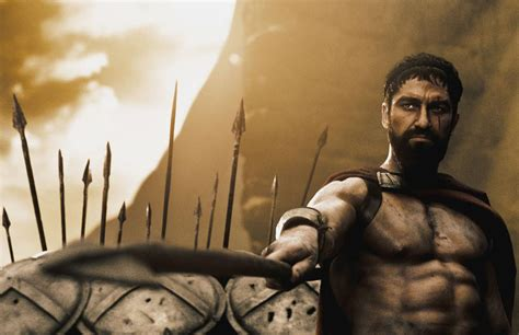 film quotes from 300 king leonidas in 300 the movie train body and mind
