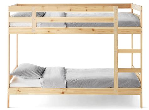 bunk beds on bunk beds wooden metal bunk beds for ikea