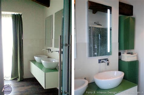 interior design bagni bagno nero e verde duylinh for