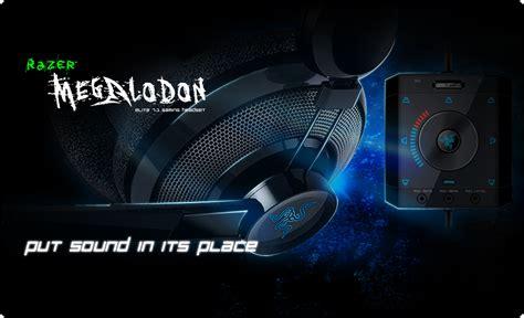 Jual Headset Razer Megalodon razer megalodon gaming headset 7 1 surround sound gaming headset razer australia