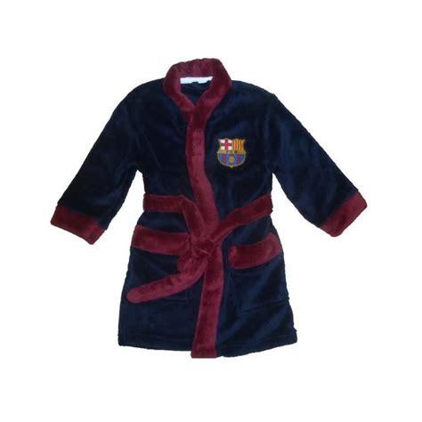 robe de chambre enfant robe de chambre peignoir enfants fc barcelone sur pyjama