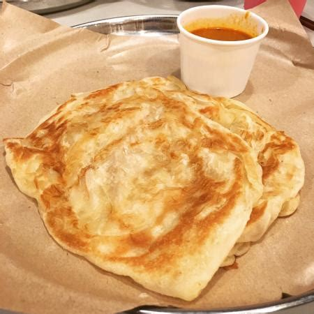Roti Sisir Butter Australia garlic naan mutton curry dhal and butter chicken picture of prata wala bedok mall