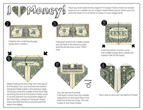 How To Make Origami With A Dollar - 64 best images about origami money on