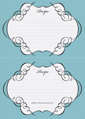 blank recipe cards michaels 17 best images about blank recipe templates on pinterest