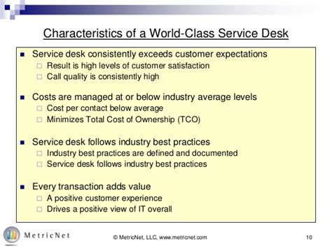 world cus help desk free service desk training series metricnet s service