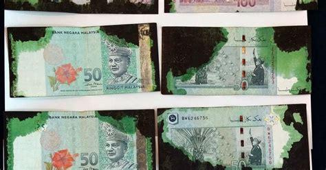 Mesin Atm Sah malaysia s banknotes and coins teknologi hakisan dakwat